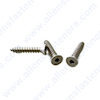 #14 FLAT HEAD ALLEN SHEET METAL SCREW (STAINLESS)